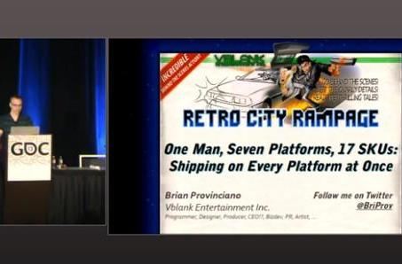 Watch Brian Provinciano's Retro City Rampage talk from GDC