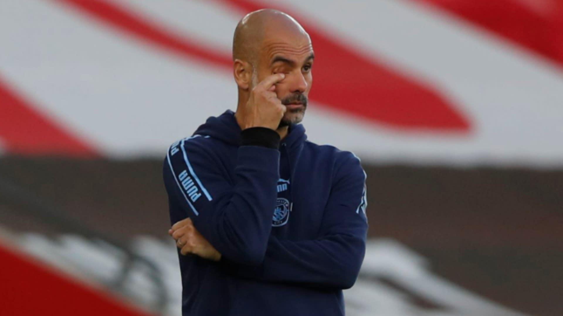 Southampton defeat summed up City's season, says Guardiola