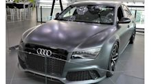 Audi RS8 is real and official, but only as a prototype