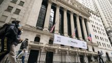 Stocks near record highs on recovery hopes