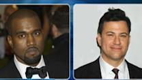 Jimmy Kimmel in a 'Rap War' With Kanye West?