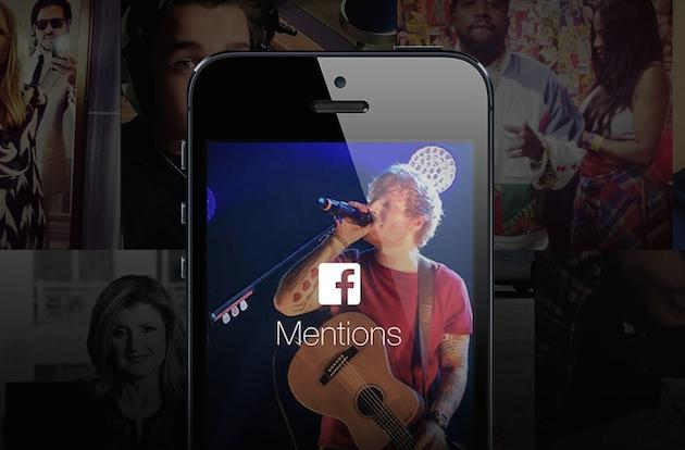 Celebrities outside of the US can now get Facebook's Mentions app