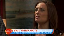 Georgie Parker goes back to her roots