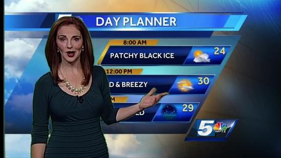 Hayley's Champlain Valley forecast