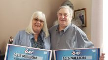 Seeing double: Alberta man splits Lotto 6-49 win with himself