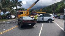 台東酒駕車禍 2大1小受傷嚴重無生命危險