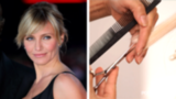 Get Cameron Diaz's Side-Swept Bangs at Home