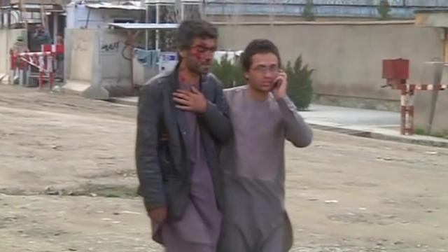 Foreigners trapped in Kabul guest house under Taliban attack