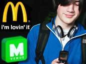 "McDonalds brings ""m-Venue"" user-selected media to face stuffers"