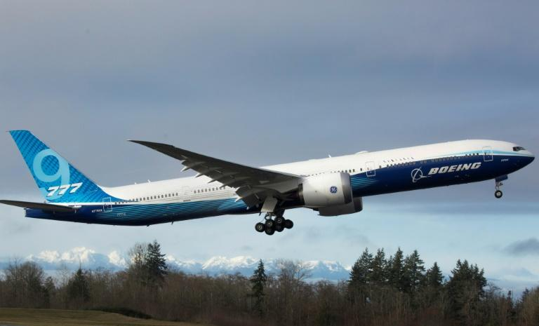 Boeing 777X completes maiden test flight
