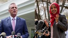Kevin McCarthy won't let go of the GOP's smear campaign against Ilhan Omar, but Democrats have moved on