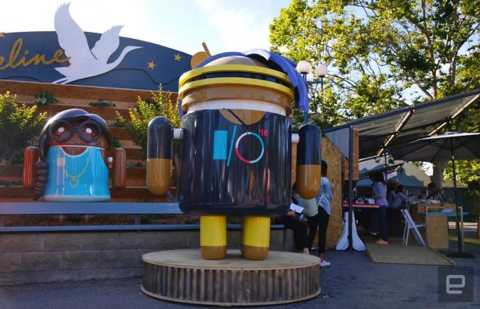 Google I/O kicks off at 1PM ET, follow our liveblog here!