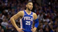 Ben Simmons leaves match after injury for 76ers