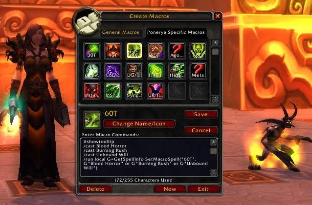 Blood Pact: A mini-grimoire of warlock macros