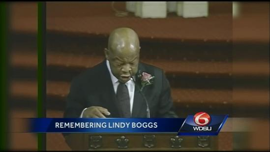 Local, national leaders celebrate life of Lindy Boggs