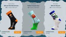 Sock portfolio! Exchange launches cosy crypto Christmas footwear