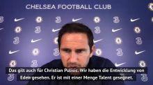 Lampard: Das unterscheidet Pulisic von Hazard