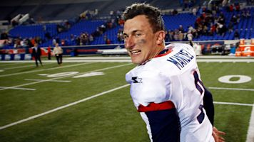 Johnny Football shows flashes in solid AAF debut