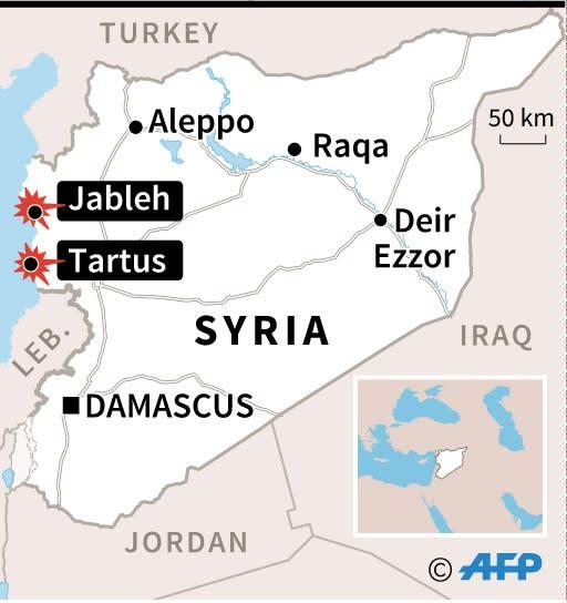 Syria (AFP Photo/Laurence SAUBADU, Simon MALFATTO)