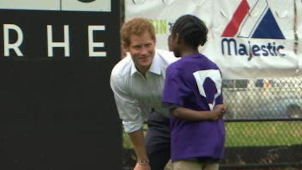 Prince Harry heads to Harlem