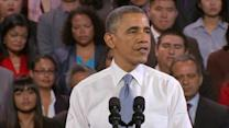 """Obama says deal will """"help Iran from building a nuclear weapon"""""""