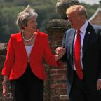 Trump 'berates' Theresa May after she calls to congratulate him on midterm elections