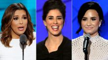 Stars Lend Their Sparkle to the Democratic National Convention
