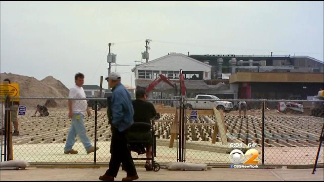 Long Way To Go For Fire-Ravaged Seaside Park Boardwalk