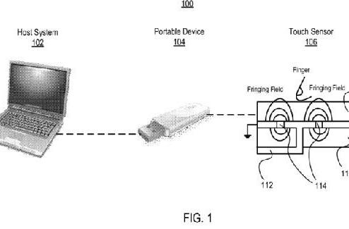 "Apple patent filing details ""touch and go"" USB devices"