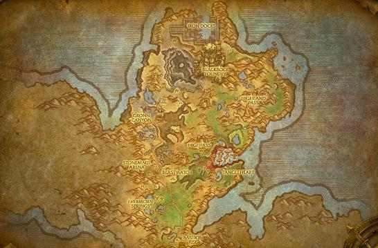 Warlords of Draenor: Gorgrond preview