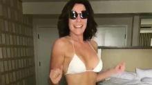 Shake It! Luann de Lesseps Shows Off Her 'Yoga Body' in a White-Hot String Bikini
