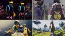 【有片】行住玩!新宿VR ZONE玩《勇者鬥惡龍》 4人合作雙手揸武器