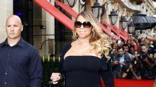 Mariah Carey para el tráfico en París con sus curvas