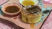 【食譜】靚過餐廳食!拖肥蜜糖配鬆厚班戟