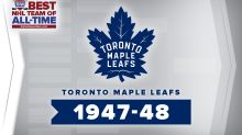 Best NHL Team of All-Time Brackets: 1947-48 Toronto Maple Leafs