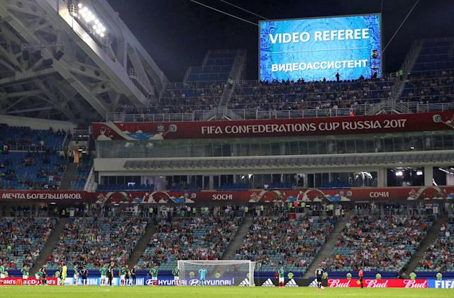 FIFA's tech 'experiments' drag soccer into the modern age