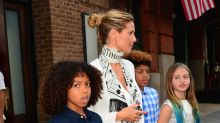 Heidi Klum calls out mommy-shamers who say she shouldn't let her young daughters wear high heels: 'Big deal!'