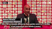 """Ligue des Nations - Martinez : """"La saison de Lukaku ? Un vrai succès"""""""