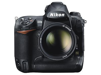 Nikon's D3X DSLR hits the scene in official fashion