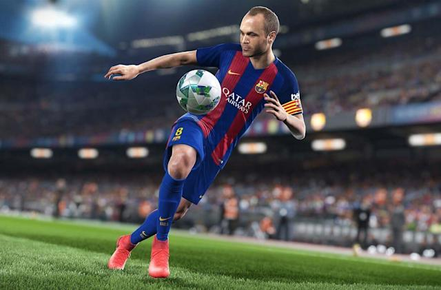 'Pro Evolution Soccer 2018' continues to be a pleasure to play