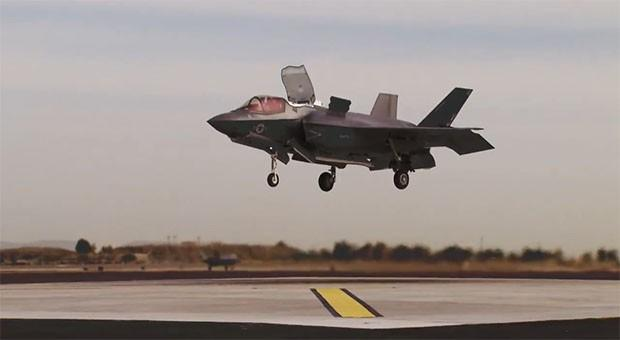 Operational F-35B fighter jet's first vertical landing was years, billions in the making (video)