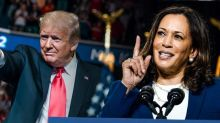 'Donald Trump froze': Kamala Harris rips into the president before his RNC speech