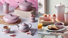 Le Creuset's new ombre pink collection will make your kitchen look dreamy