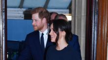Meghan Markle's Navy Dress at the Queen's Birthday