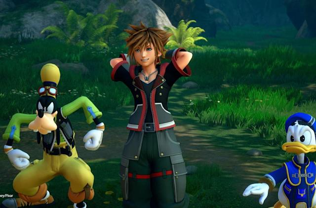 'Kingdom Hearts III' will land on PS4 and Xbox One in January 2019