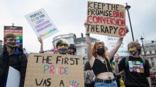 Thousands tell Boris Johnson to 'stop stalling on LGBT+ rights' at Reclaim Pride march