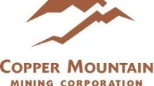Copper Mountain Completes Acquisition of Altona Mining Limited