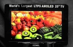 CMO and CMEL develop 25-inch LTPS AMOLED TV