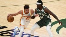 Young scores 48 to power Hawks over Bucks in NBA playoffs