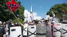 White supremacists cheer Trump's evolving response to Charlottesville